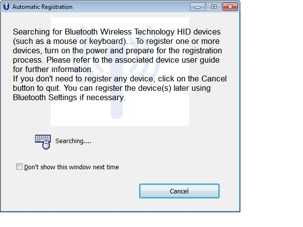 BluetoothRegistrationPrompt