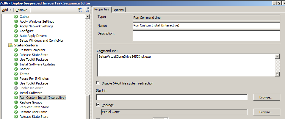 Run an Interactive Installation in SCCM with AutoIt and the