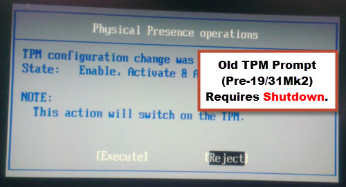 Enabling TPM o Toughbook Laptops and Tablets using Best