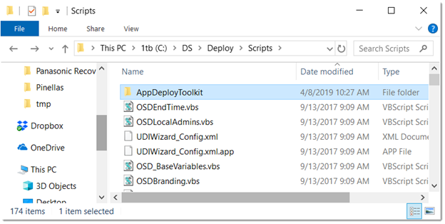 Consolidate PowerShell App Deploy Toolkit Function  PS1